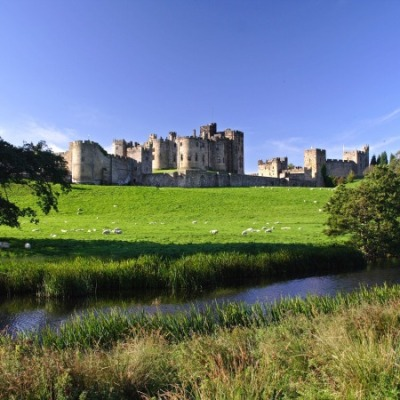 Alnwick Castle, North East England
