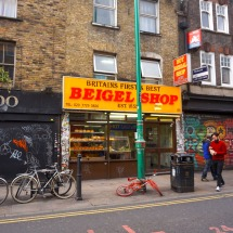 The famous Beigel Shop, East London
