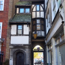 St Bartholomew's gatehouse: leading to the oldest parish church in London