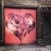 Street art, London's East End