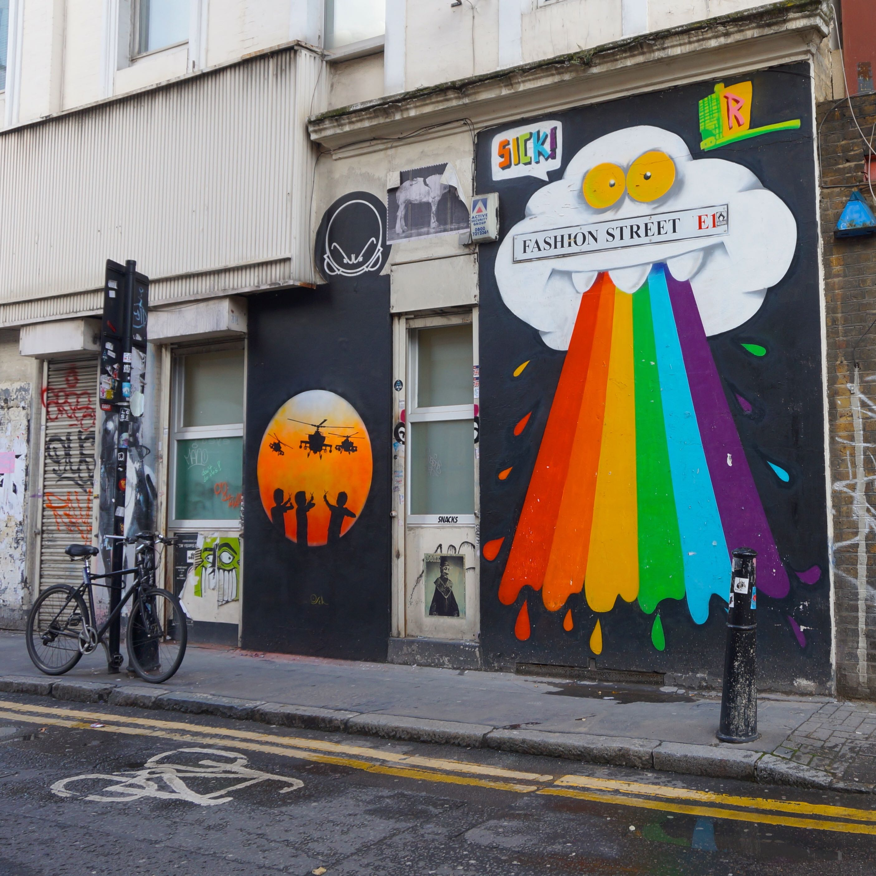 east london street art map rome - photo#27