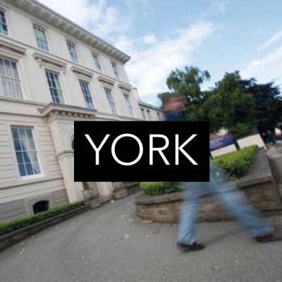 Study in the North of England in the ancient Roman city of York