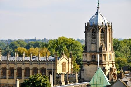 Christ Church, a large Oxford university college