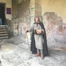Actor at the Roman Baths