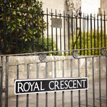 The Royal Crescent - the most famous street in Bath