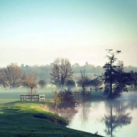 The Dedham Vale British Countryside