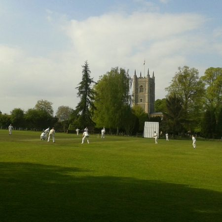 Cricket in Dedham