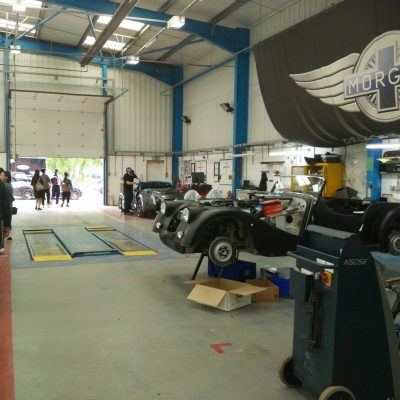 Morgan Motor Company Factory Tour