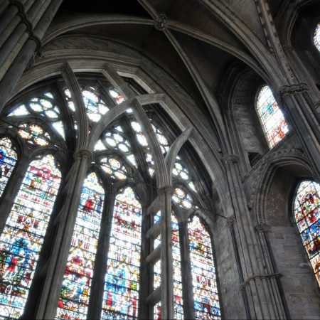 Durham Cathedral Stained Glass Windows