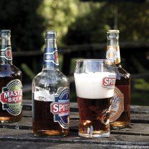 Beers in the garden
